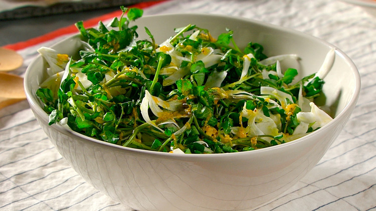 Watercress and Fennel Salad