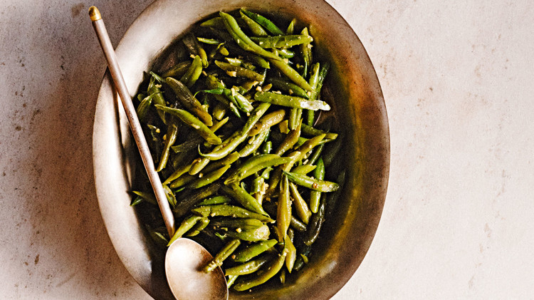 Cumin and Chile Green Beans