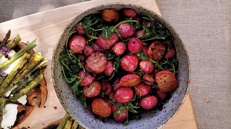 Oven-Roasted Radishes