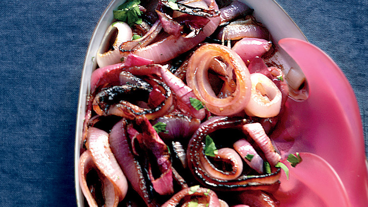 Balsamic Red Onions