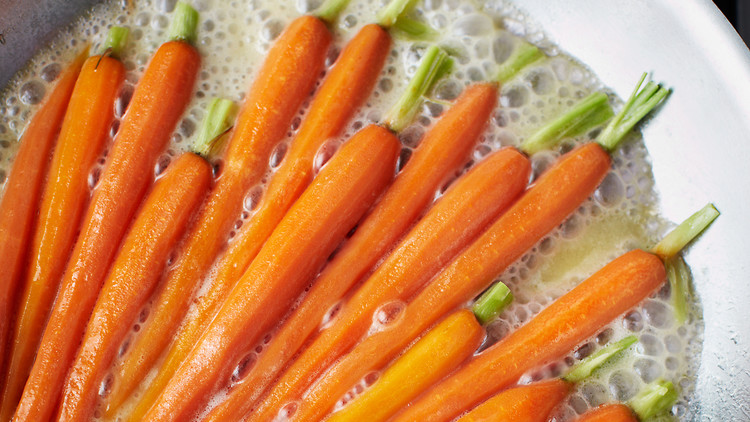 Quick Glazed Carrots