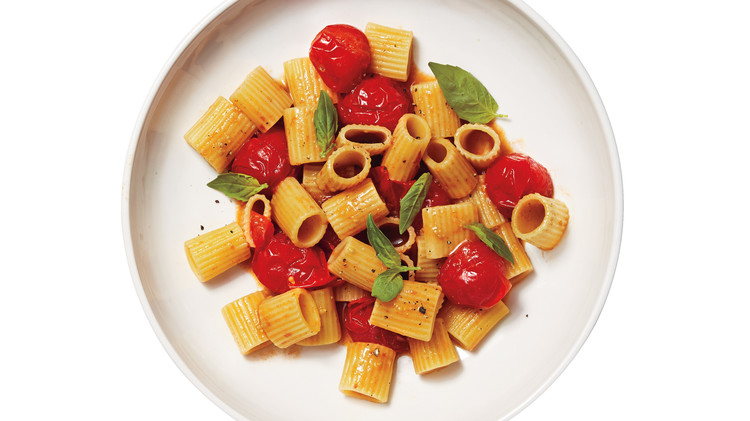 Cherry-Tomato & Anchovy Sauce