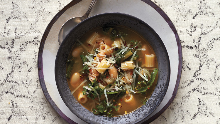 Minestrone with Winter Greens