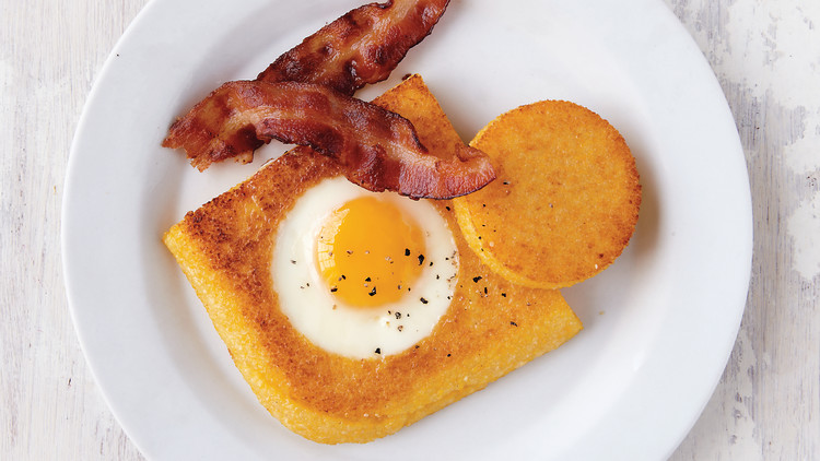 Polenta Toad in the Hole