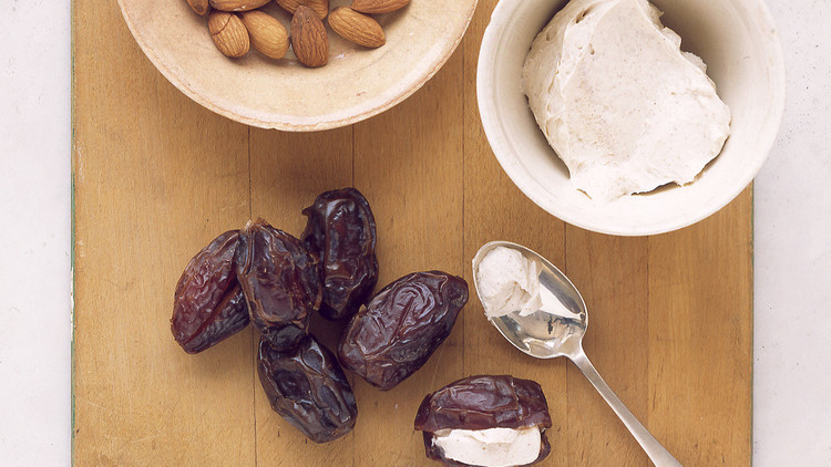 Stuffed Dates with Clementines