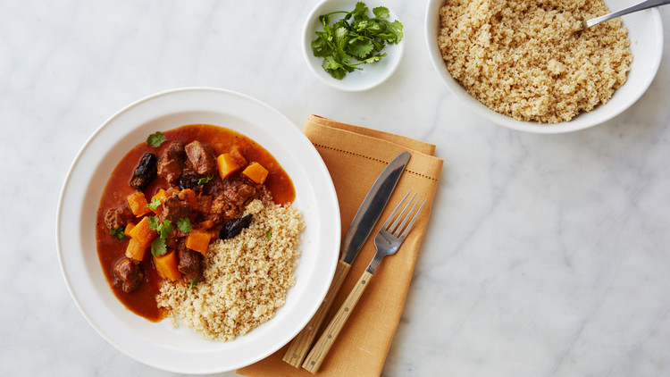 Lamb and Squash Tagine