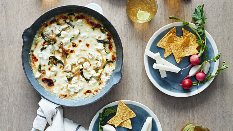 spicy queso fundido
