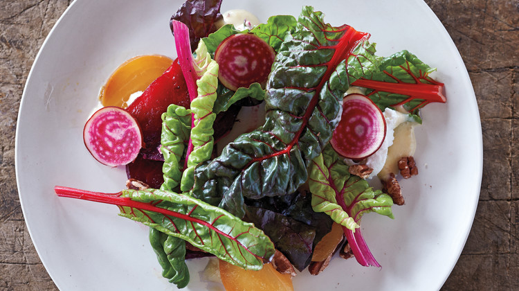 Beet Salad with Honey-Lavender Dressing