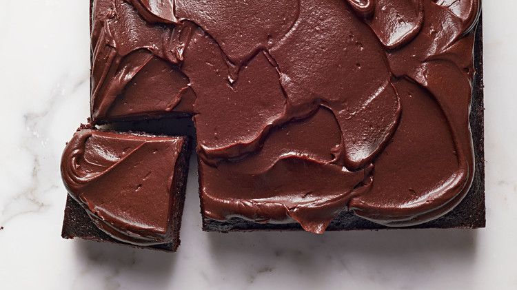 Fudgy Chocolate Beet Cake