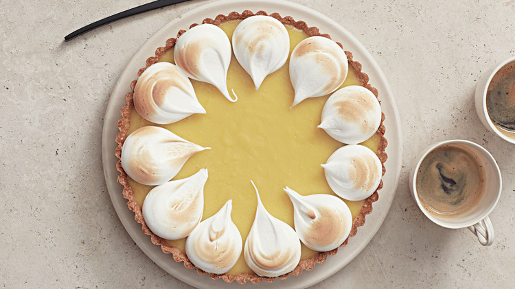 Meyer-Lemon and Hazelnut Tart