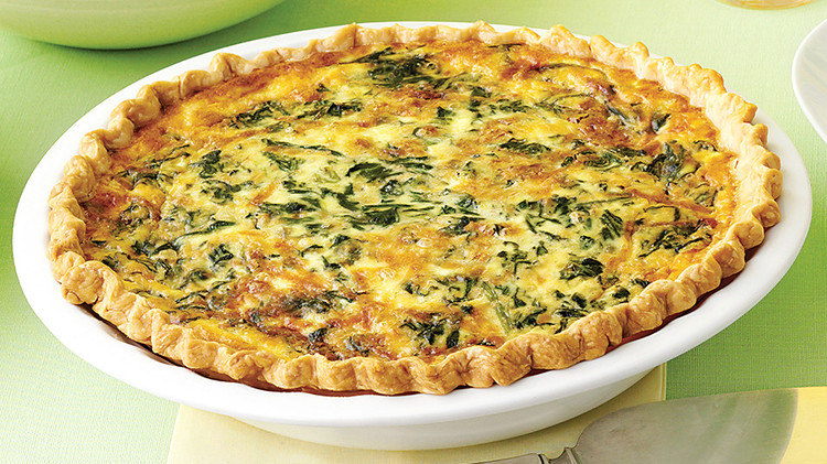 Spinach And Gruyere Quiches Recipe Martha Stewart