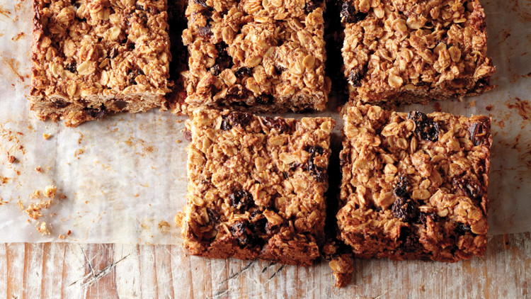 Cherry-Date Oat Bars