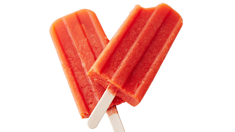 carrot ginger ice pops