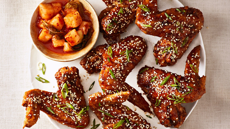 Korean Fried Chicken Wings