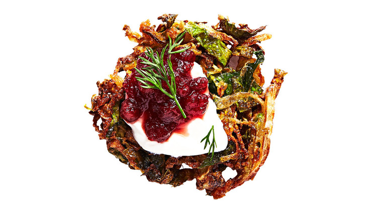 Brussels-Sprout Latkes