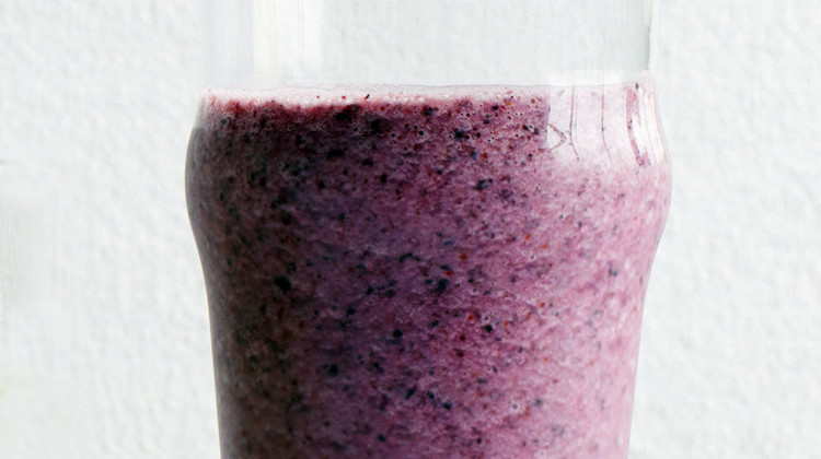 Cucumber-Blueberry Smoothie