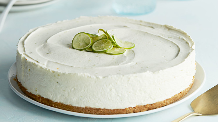 No Bake Key Lime Cheesecake Recipe Martha Stewart