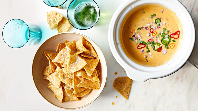 Slow-Cooker Queso recipe