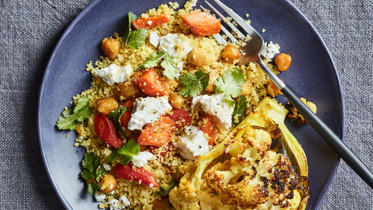 vegetable couscous bowl