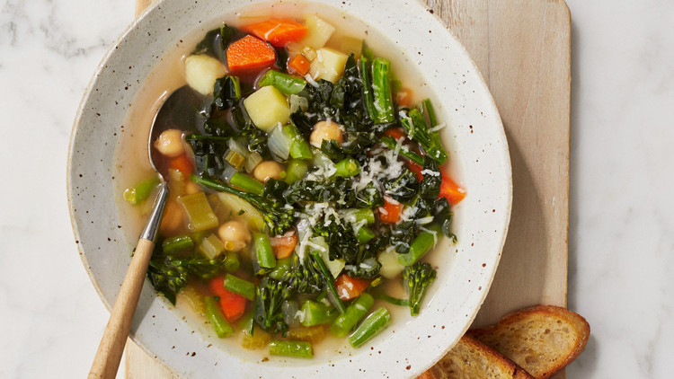 Customizable Vegetable Soup