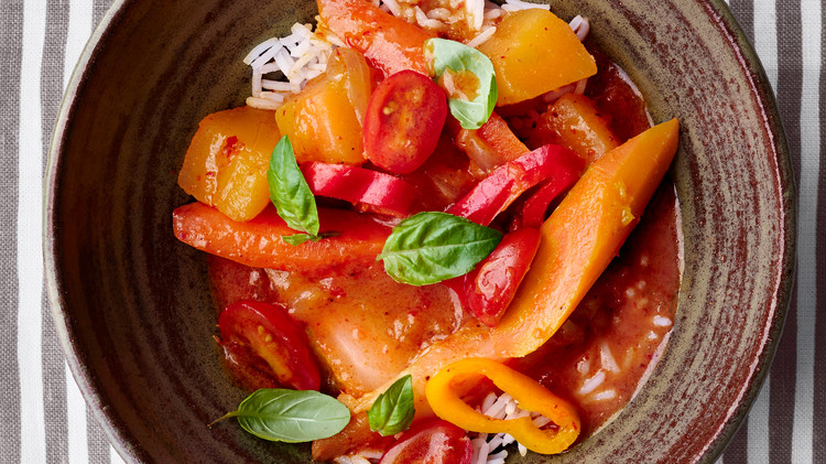 Winter-Vegetable Red Curry