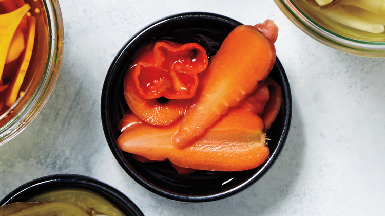 Pickled Spicy Carrots