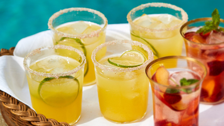 Yellow-Watermelon Margarita