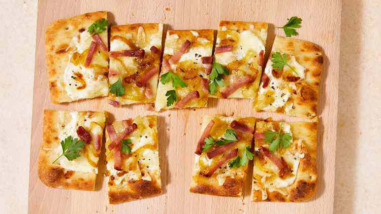 Ham-and-Cheese Flatbread