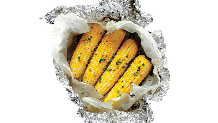 Buttered Corn with Chives