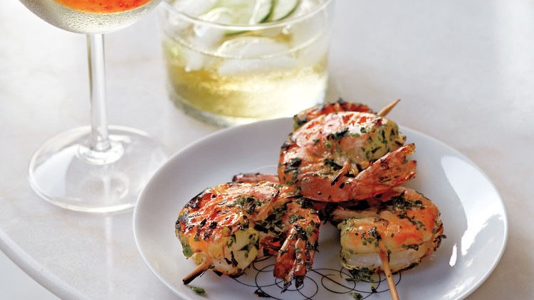 Grilled Herbed Shrimp