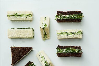 Vegan Cucumber Tea Sandwiches Martha Stewart