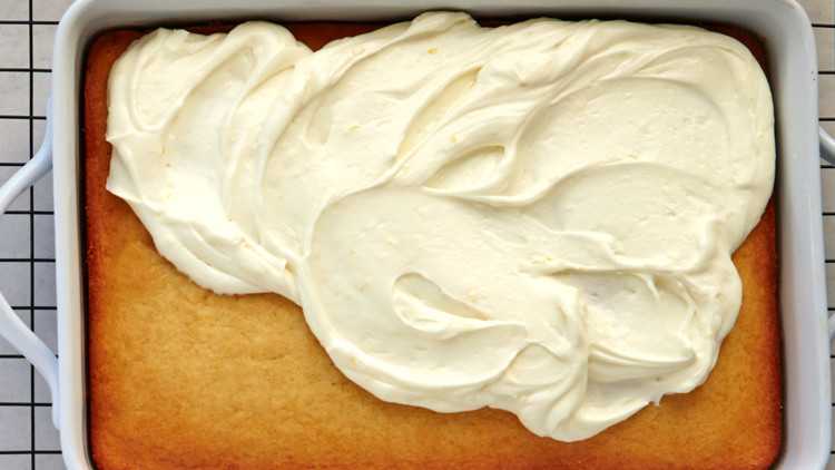 Lemon Cream Cheese Frosting Recipe Martha Stewart