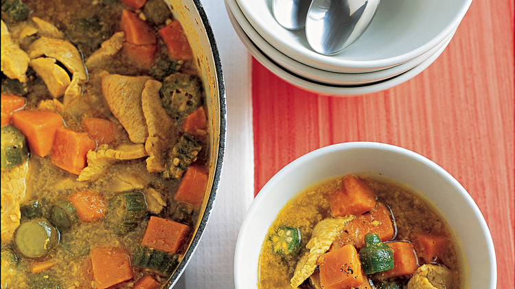 Turkey and Sweet Potato Curry