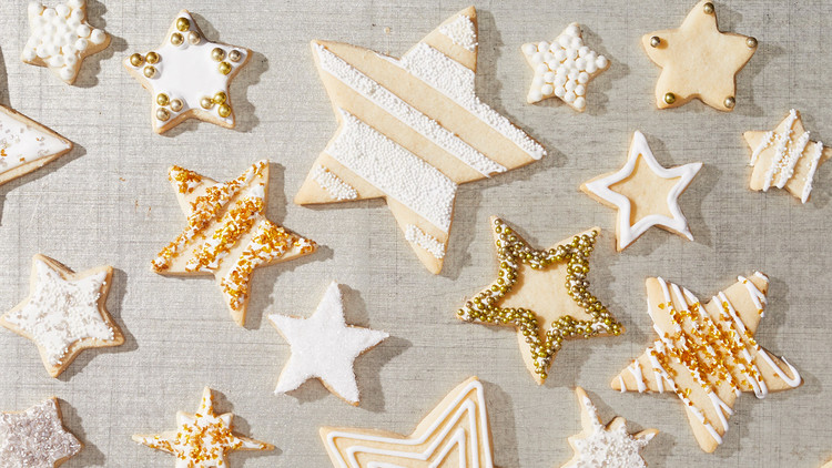 gluten free star sugar cookies