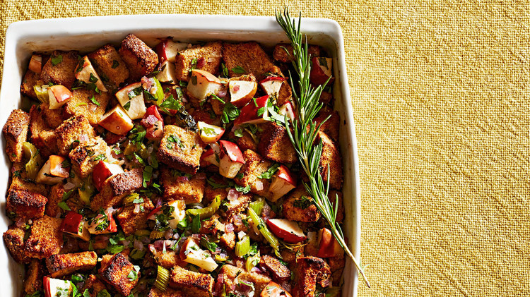 Whole-Wheat-Bread-and-Apple Stuffing