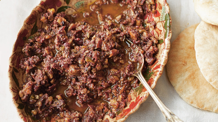 Olive, Fig, and Honey Tapenade