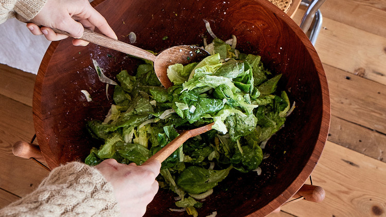 Butter-Lettuce Salad with Buttermilk and Herbs