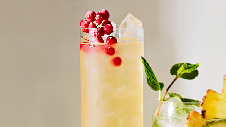 Iced Passion-Fruit Green Tea Riley Wofford