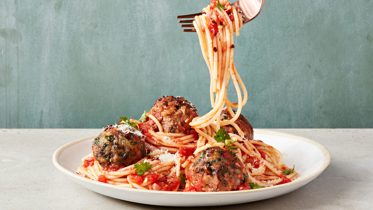 Test Kitchen's Favorite Spaghetti and Meatballs
