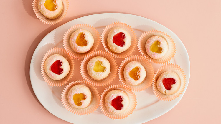 Sweetheart Thumbprint Cookies
