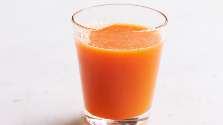 Carrot, Orange, and Ginger Juice