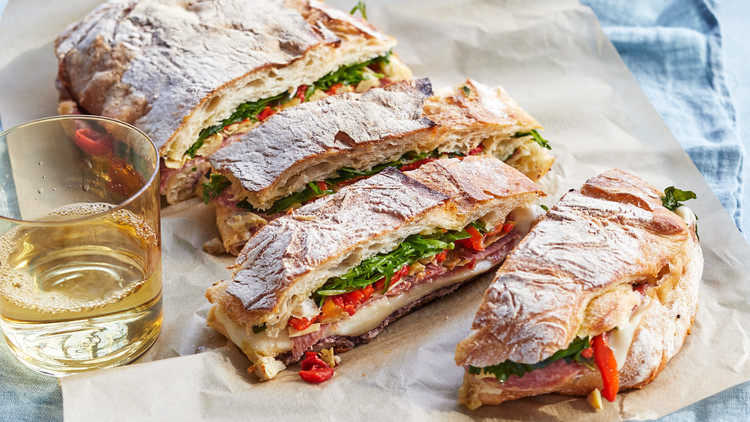 Easy Italian Grilled Sandwiches