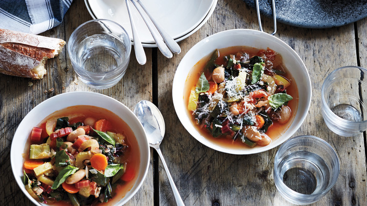 Late-Summer-Vegetable Minestrone