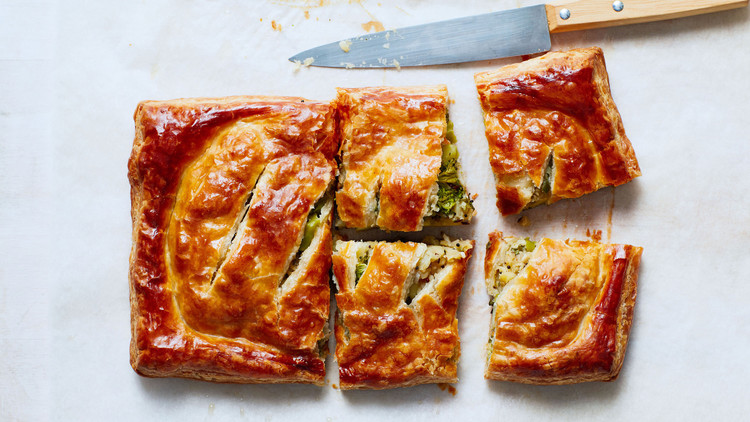 Broccoli-and-Potato  Samosa  Pie