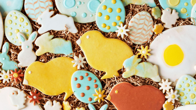 Martha's Easter Sugar Cookies