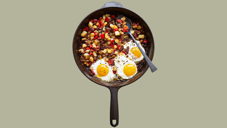 gregs campfire breakfast hash