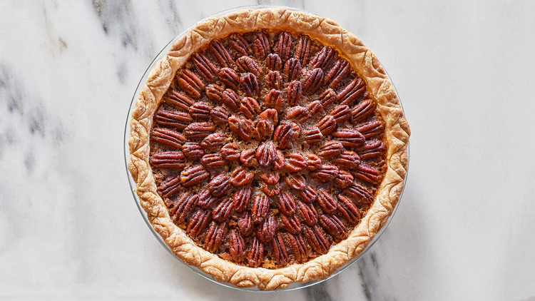 Brown-Butter Bourbon Pecan Pie