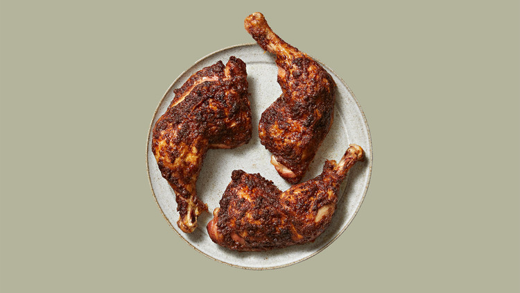 Roasted Cinnamon-Rubbed Chicken