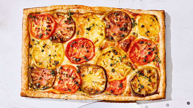 Tomato and Brie Tart