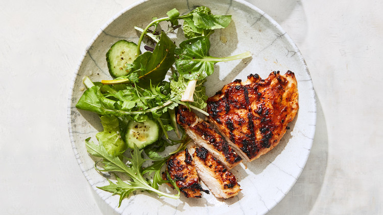 Teriyaki-Glazed Grilled Chicken Lauryn Tyrell